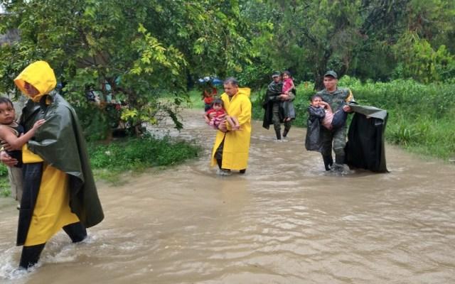 En 24 horas se duplicó número de afectados por inundaciones en Tabasco; cifra aumentará, advierten autoridades - Foto de Protección Civil Tabasco