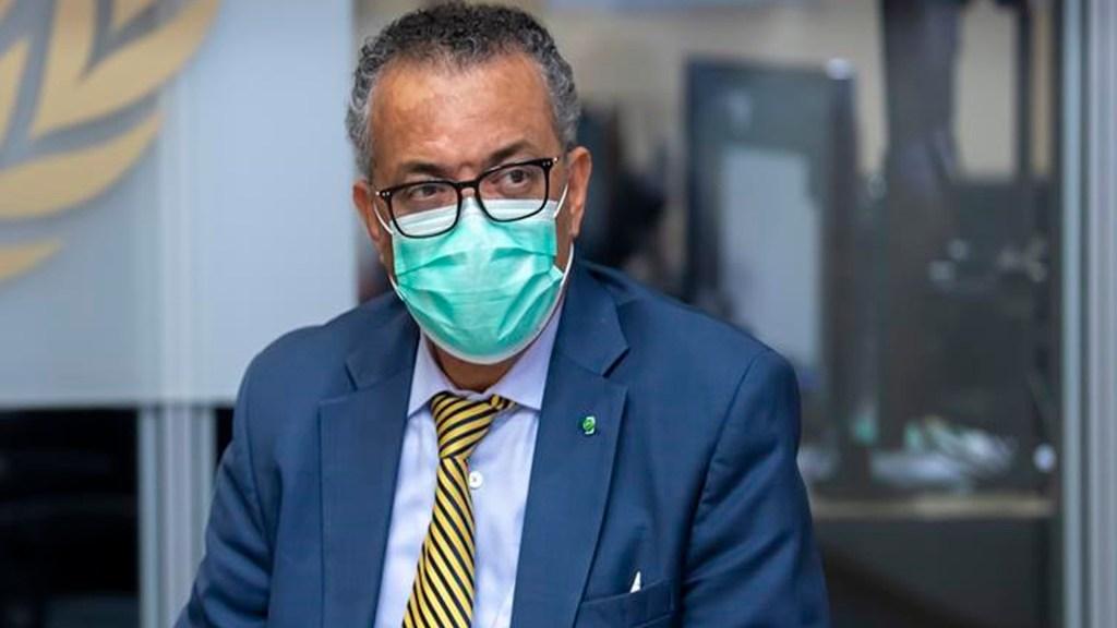 Politización y falta de conciencia, grandes obstáculos para contener la pandemia de COVID-19: OMS - El director general de la Organización Mundial de la Salud (OMS), Tedros Adhanom Ghebreyesus. Foto EFE