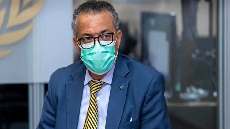 Politización y de conciencia, grandes obstáculos para contener la pandemia de COVID-19: OMS - El director general de la Organización Mundial de la Salud (OMS), Tedros Adhanom Ghebreyesus. Foto EFE