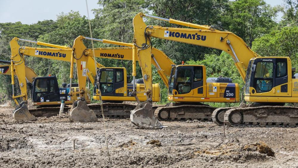 Conceden suspensión definitiva a comunidades indígenas contra obras del Tren Maya - Obras de construcción del Tren Maya. Foto de lopezobrador.org.mx