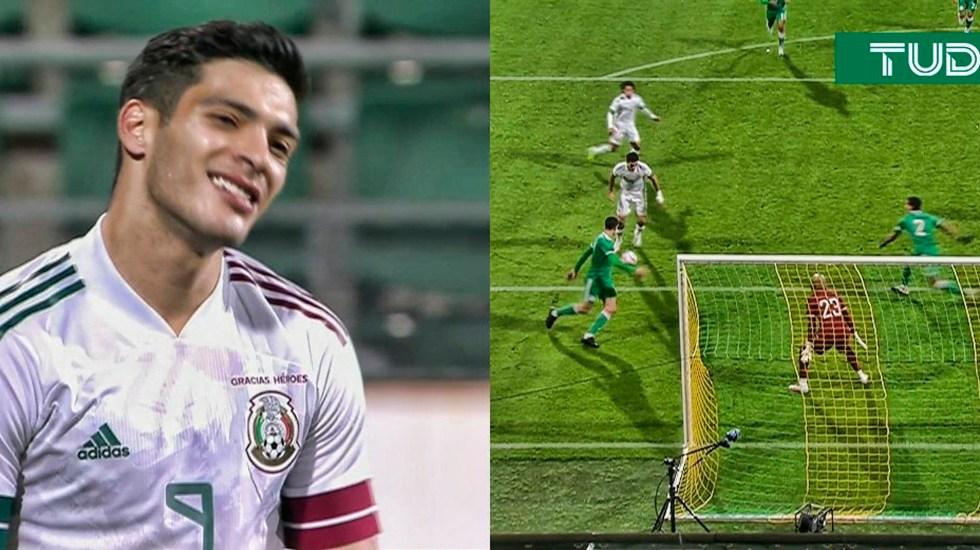 México no logra aprovechar superioridad numérica y rescata empate ante Argelia - Foto Twitter @TUDNMEX