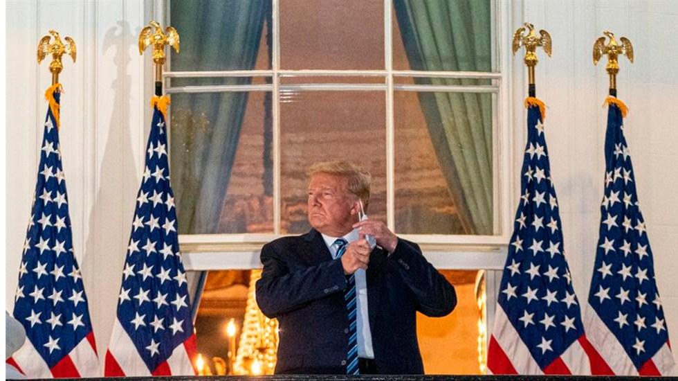 """Trump dice que es """"estúpido"""" hacer tantos tests de COVID-19 tras récord de casos - El presidente de Estados Unidos, Donald J. Trump. EFE/EPA/KEN CEDENO/Archivo"""