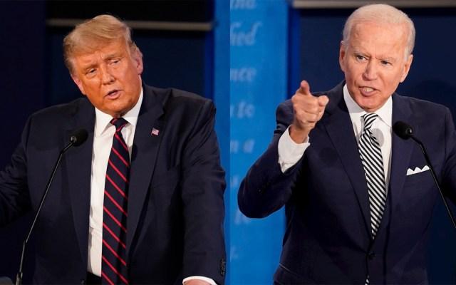 Diez claves para entender las elecciones en Estados Unidos - Trump y Biden durante debate presidencial. Foto de EFE / LDD