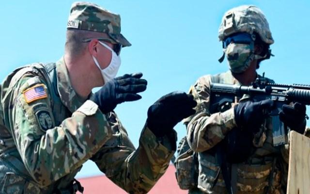 Guardia de Texas desplegará tropas en cinco ciudades ante posiblesdisturbios postelectorales - Foto Twitter @USArmy