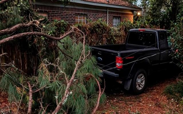 'Zeta' se degrada a ciclón tras dejar 5 muertos en el sur de Estados Unidos - Foto EFE