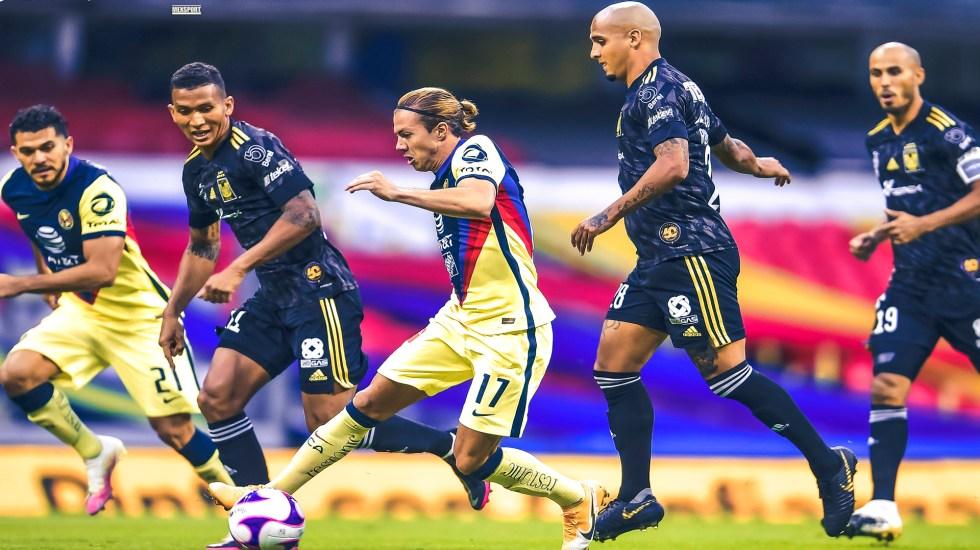 América se clasifica a la Liguilla tras derrotar 3-1 a Tigres UANL - Foto Twitter @ClubAmerica