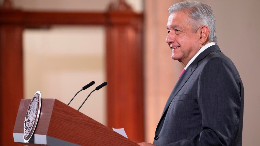 El incómodo silencio de López Obrador ante la victoria de Joe Biden - Foto Presidencia