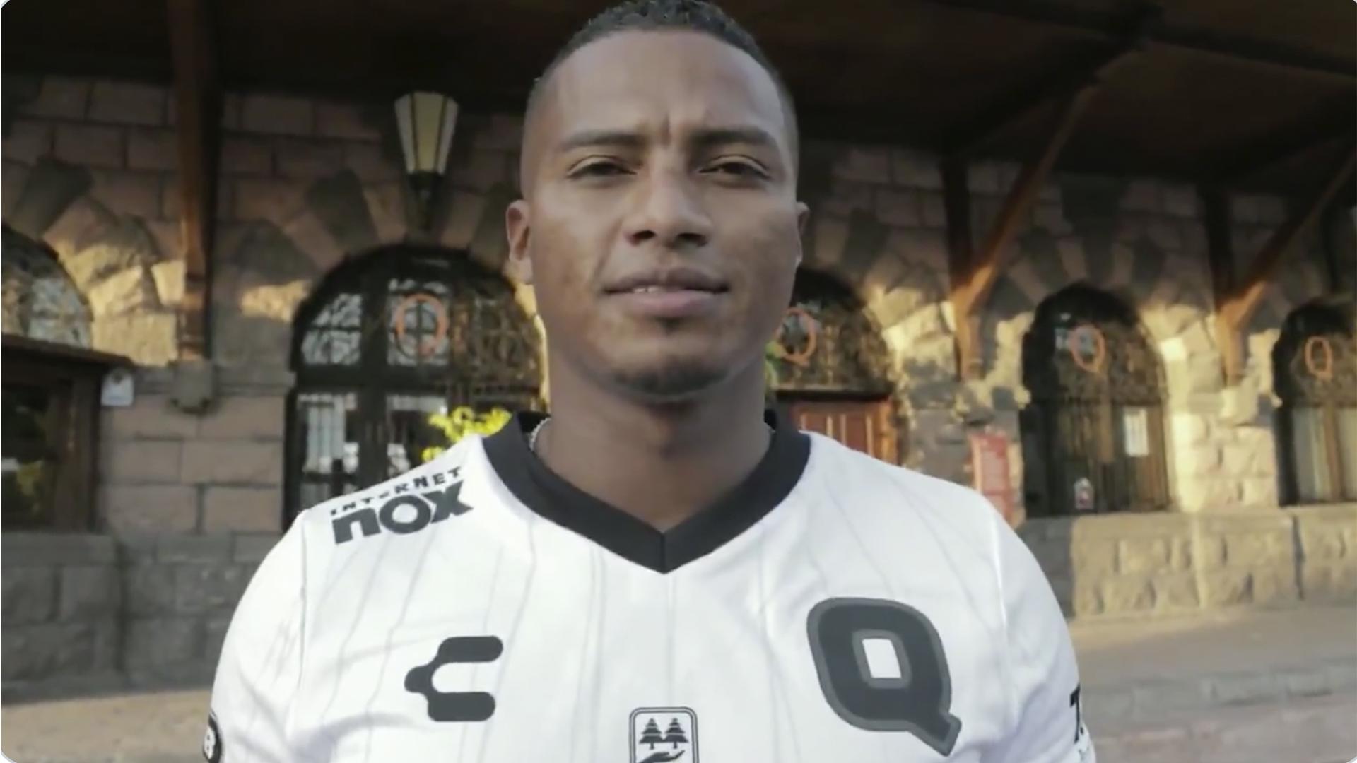 Antonio Valencia llegó a México para firmar con Gallos — Querétaro