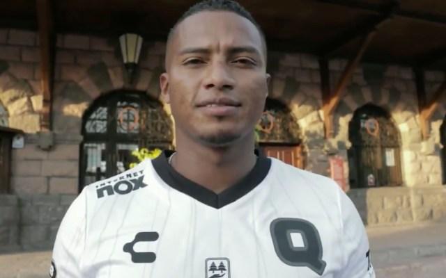 Antonio Valencia, nuevo jugador del Querétaro - Antonio Valencia. Foto de Club Querétaro.