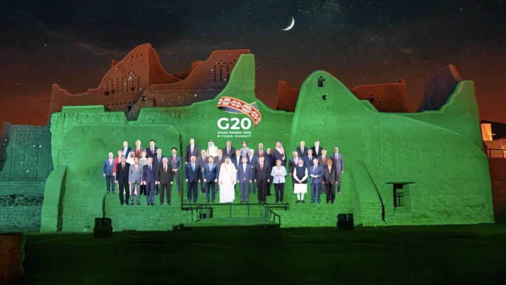 Arranca de forma virtual la cumbre del G20 desde Arabia Saudita - Foto de @g20org