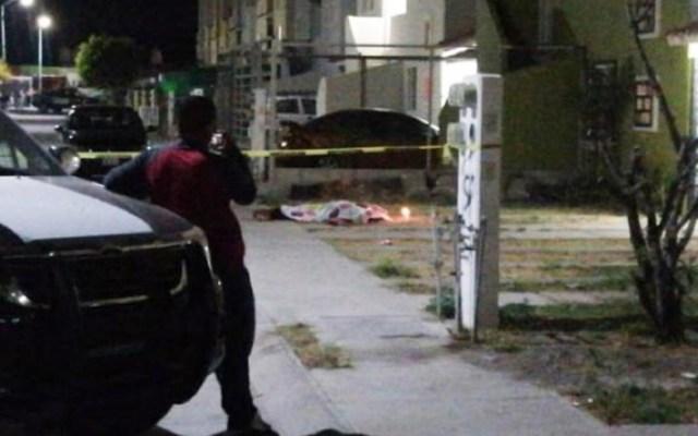 Asesinan a siete personas en Salamanca, Guanajuato - Asesinato de persona en la colonia Barlovento, Salamanca. Foto de @AGORAgto