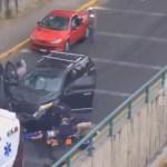 #Video Atropellan en Naucalpan a asaltantes de cuentahabiente y logran su detención