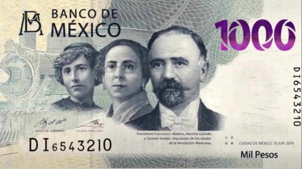 Banxico presenta el nuevo billete de mil pesos - Foto de Banxico