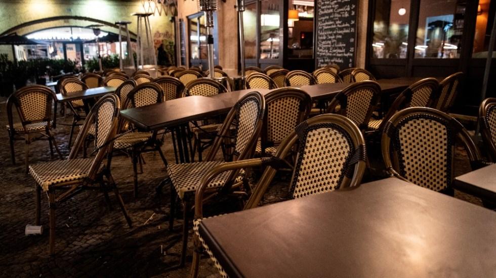 Merkel ve pocas opciones para una reapertura de la gastronomía en Alemania para diciembre - Foto de EFE