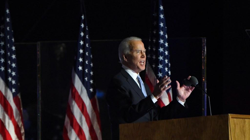 """Joe Biden promete recuperación económica """"para todos"""" - Joe Biden, presidente electo de EE.UU. Foto de EFE"""