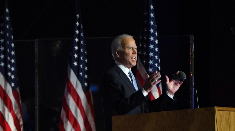 Recibe Biden apoyo de Conferencia Episcopal de EE.UU. tras resultar presidente electo - Joe Biden, presidente electo de EE.UU. Foto de EFE