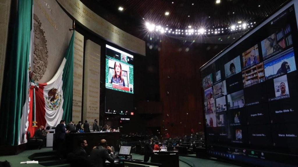 Continuará discusión de reservas del Presupuesto de Egresos de la Federación 2021 en San Lázaro - Foto de Twitter Dulce María Sauri