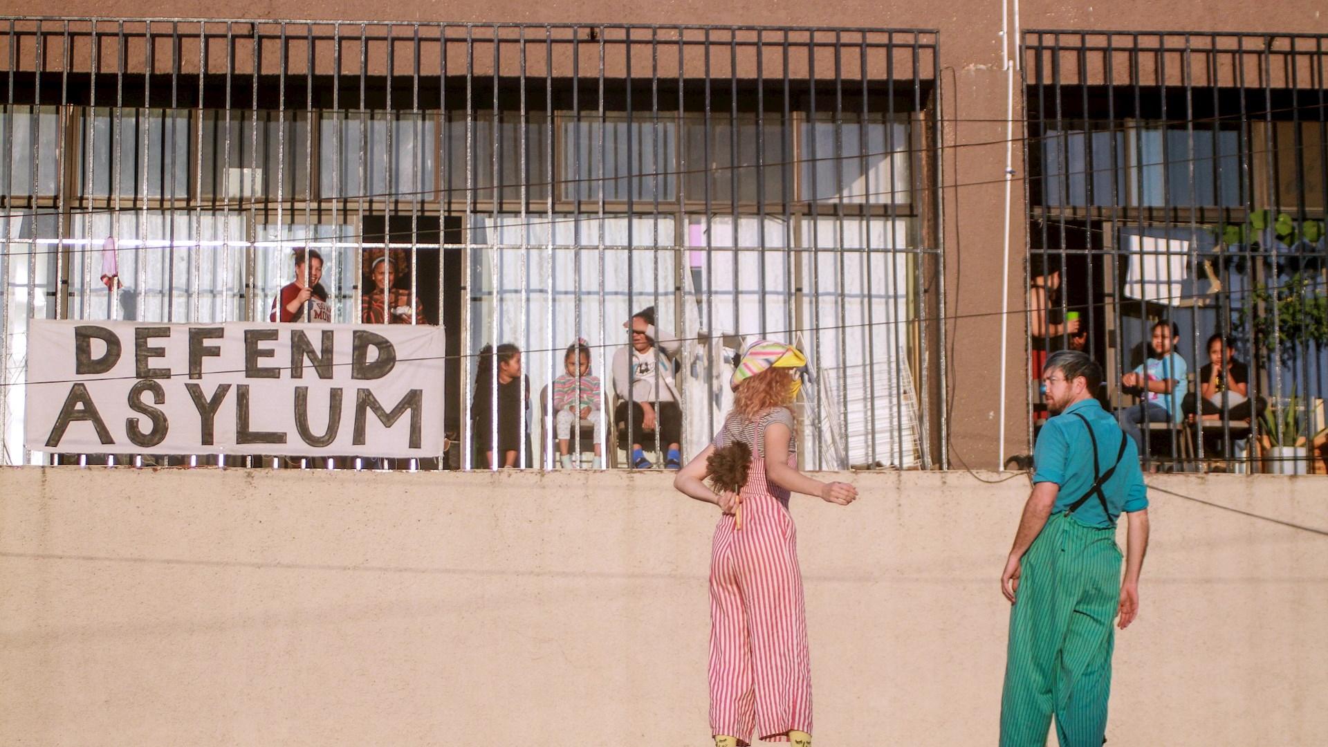 Circo niños migrantes Tijuana 2