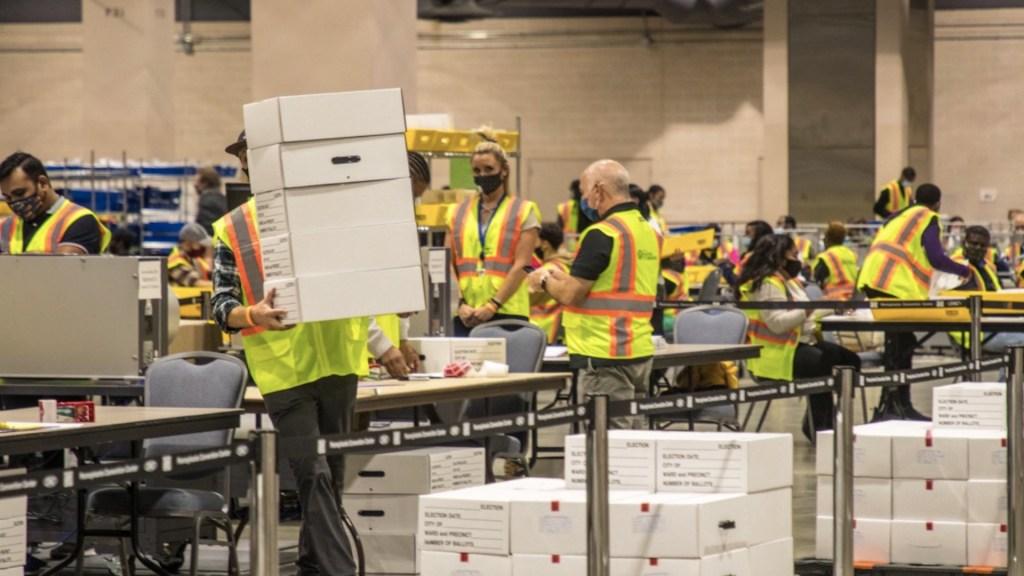 Nevada continúa contando votos; es el último día de electores para validar su identidad - Foto de @PhillyMayor