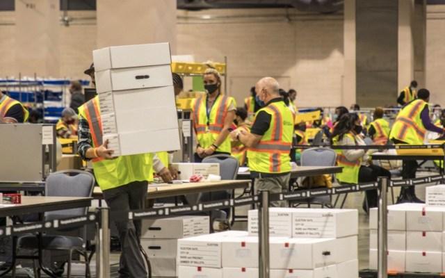 Joe Biden roza la victoria en las elecciones tras cuarta noche de conteo de votos - Foto de @PhillyMayor