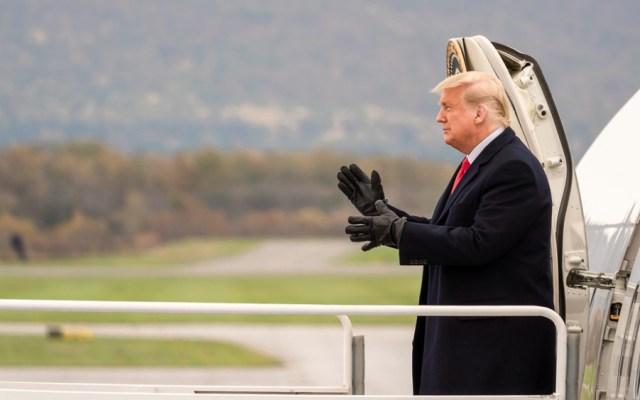 Juicios y deuda millonaria, lo que espera a Trump al salir de la Casa Blanca - Foto de EFE