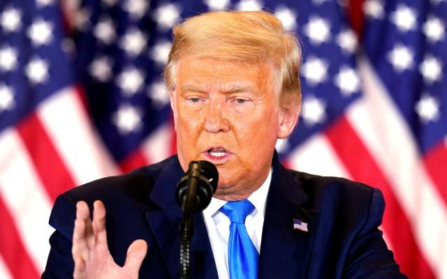 Trump se autoproclama ganador en cuatro estados aún sin resultados - Foto de EFE