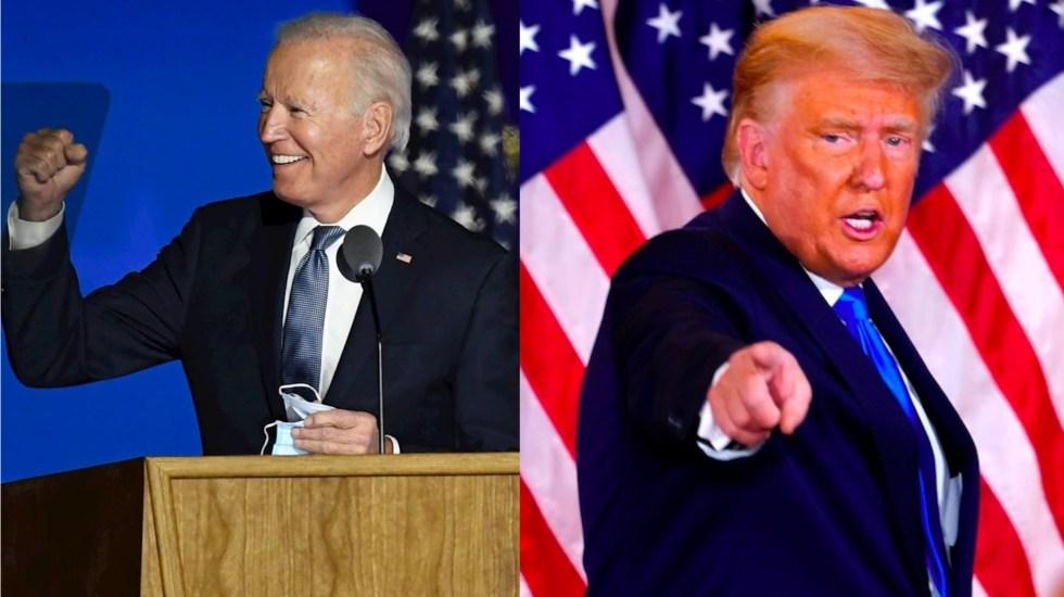 Colegio Electoral: Biden 264, Trump 213; el candidato demócrata a seis votos de ganar las elecciones - Donald Trump Biden Estados Unidos