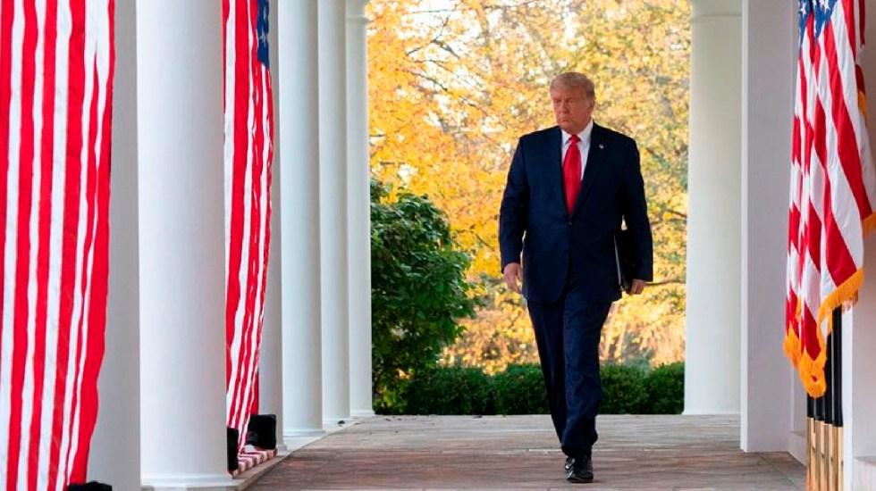 """Donald Trump quiso atacar a Irán la semana pasada, pero fue disuadido por asesores, según """"New York Times"""" - El presidente de Estados Unidos, Donald Trump, en la Casa Blanca en Washington DC. Foto EFE"""