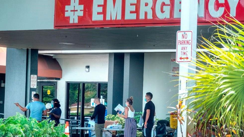 Continúa intensidad de contagios en Estados Unidos; más de 176 casos en las últimas 24 horas - Estados Unidos registra más de 176 mil nuevos contagios en las últimas 24 horas