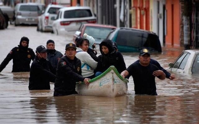 Más de 80 mil afectados y 12 muertos por lluvias de ciclón 'Eta' en sureste de México - Foto EFE