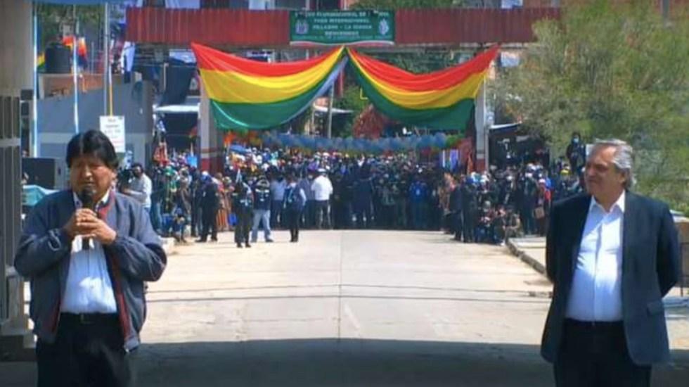 """No dudaba que iba a volver"", asegura Evo Morales al regresar a Bolivia - Foto de El Deber Bolivia"
