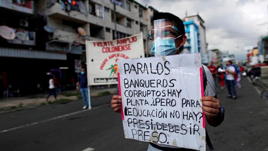 Exigen internet gratis para estudiantes en Panamá en tiempos de pandemia - Exigen internet gratis para los estudiantes en Panamá en tiempos de pandemia. Foto EFE
