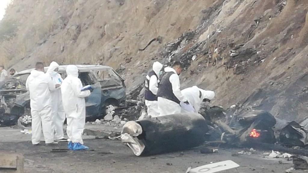 Única sobreviviente de explosión de pipa tiene quemaduras en el 90 por ciento del cuerpo - Foto de Fiscalía de Nayarit