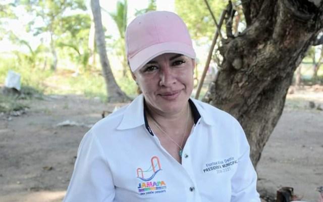 Alcaldesa de Jamapa, Veracruz, denunció temer por su vida días antes de ser asesinada - Florisel Ríos Delfín. Foto de @RiosFlorisel