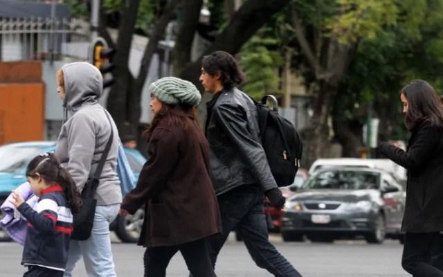 Activan alertas Naranja y Amarilla por frío para este domingo en la CDMX - Se esperan bajas temperaturas en la Ciudad de México. Foto de Notimex