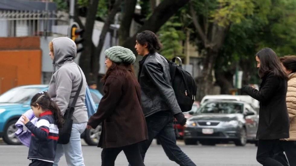 Activan Alerta Amarilla temperaturas bajas en cinco alcaldías - Se esperan bajas temperaturas en la Ciudad de México. Foto de Notimex