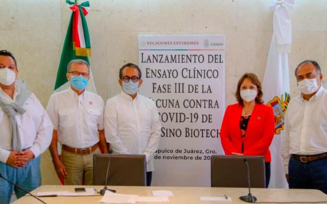 Iniciarán en Guerrero ensayos de vacuna contra COVID-19 de CanSino Biologics: Héctor Astudillo - Foto Twitter @HectorAstudillo