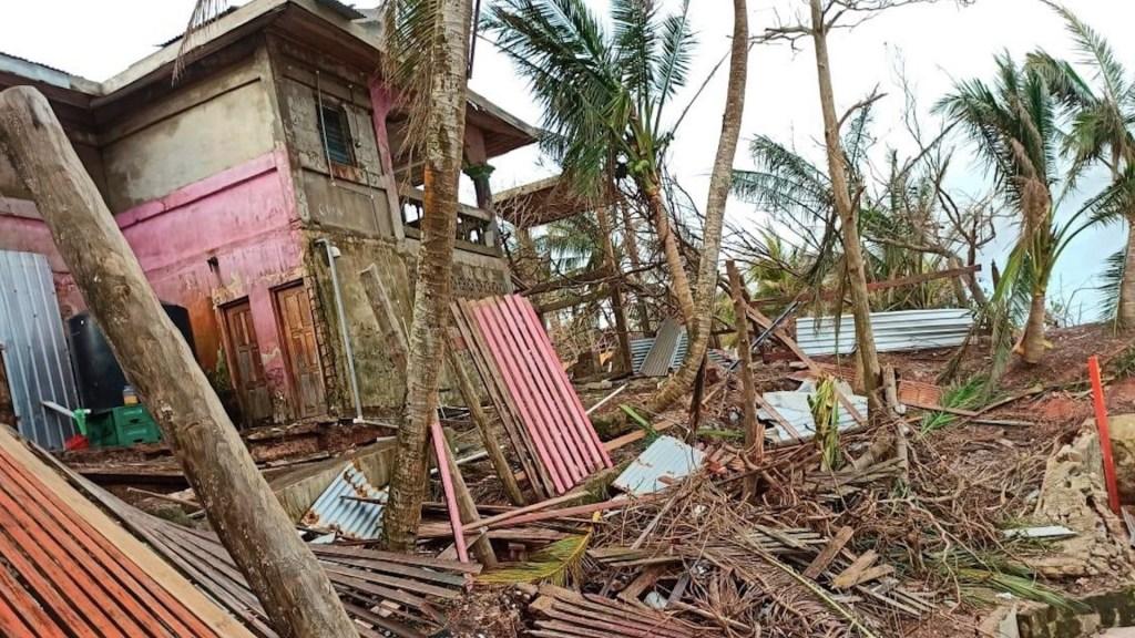 Al menos 28 muertos en Nicaragua por paso del huracán Iota - Afectaciones por el huracán Iota. Foto de EFE / Archivo