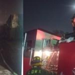 #Video Incendio en subestación de CFE completamente controlado; más de 30 mil usuarios afectados