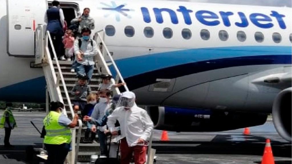Interjet cancela todos sus vuelos programados para este domingo; serán reprogramados a partir del 3 de noviembre - Foto Twitter @interjet