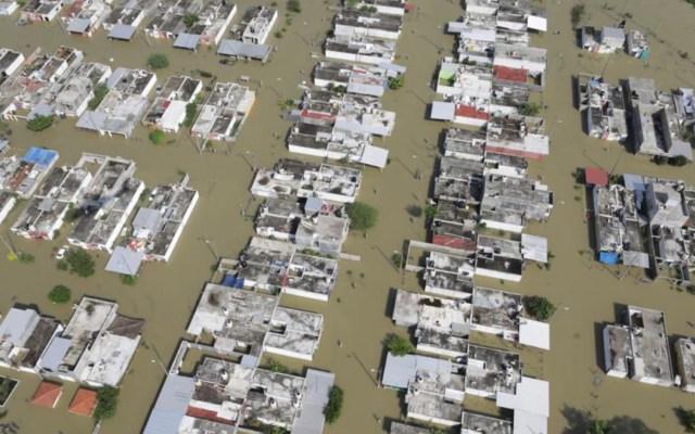 Plan para evitar inundaciones en Tabasco y Chiapas iniciará en diciembre; Adán Augusto López reclama reparación del daño - Foto de Twitter Adán Augusto