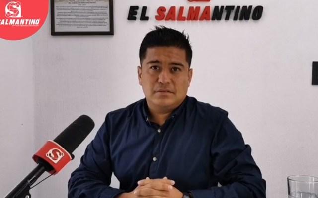 Asesinan en Salamanca al reportero Israel Vázquez Rangel - Israel Vázquez, reportero de Salamanca. Foto de El Salmantino