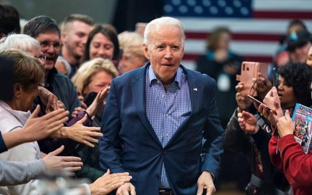 Joe Biden planea esta noche dar un discurso a la nación - El candidato presidencial demócrata, Joe Biden. Foto de EFE/EPA/JIM LO SCALZO