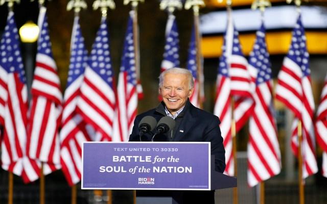 """Invita Biden a votar por """"un nuevo día para Estados Unidos""""; pide dejar el pasado y mirar al futuro - Foto Twitter @JoeBiden"""