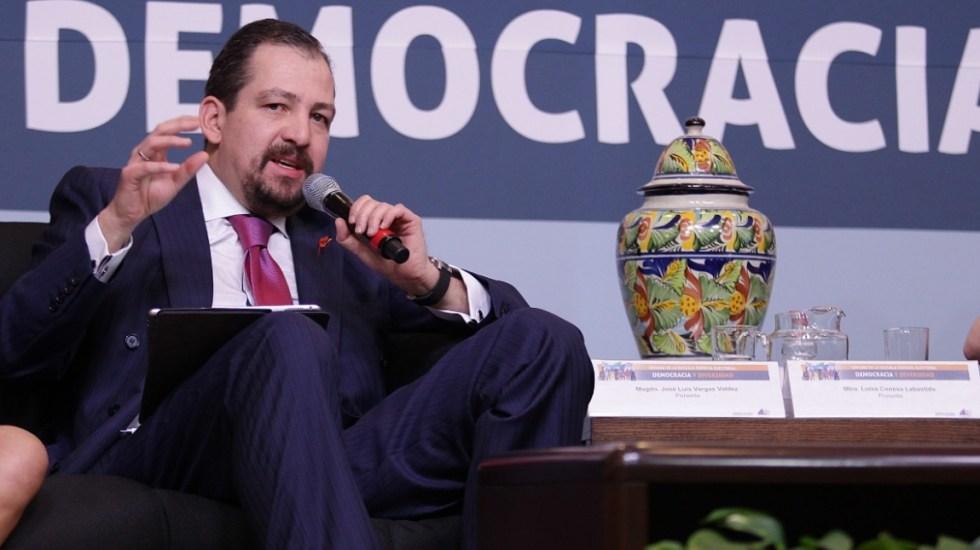 Magistrados destituyen a José Luis Vargas; Reyes Rodríguez Mondragón es el nuevo presidente del TEPJF - José Luis Vargas Valdés Magistrados Tribunal Electoral