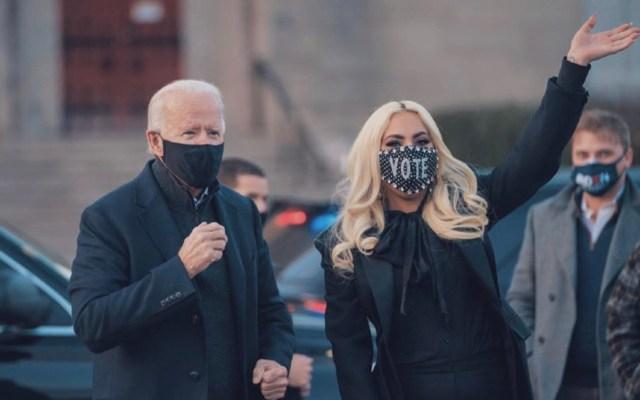Hollywood se vuelca en las elecciones y en echar a Trump de la Casa Blanca - Foto de @ladygaga