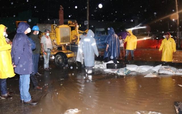 AMLO entiende reclamo del gobernador de Tabasco a CFE tras inundaciones en la entidad - Foto de @adan_augusto