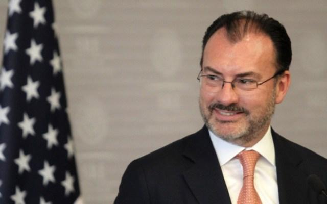 Confirma AMLO solicitud de orden de aprehensión contra Luis Videgaray, pero fue rechazada por averiguación mal integrada - Luis Videgaray. Foto de Notimex / Archivo