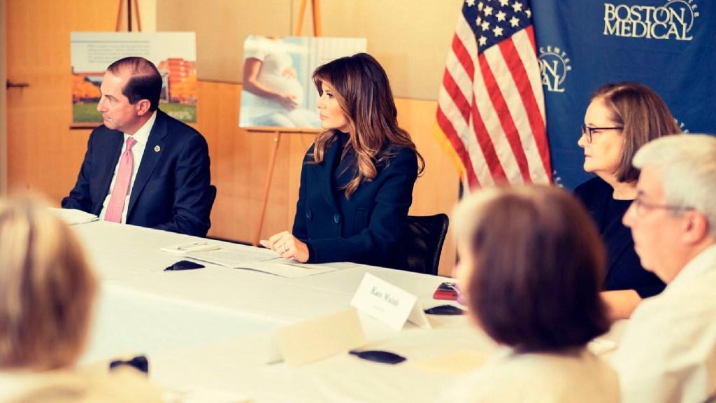 """""""Cada voto legal debería ser contado"""", expresa Melania Trump sobre elecciones - Foto Twitter @FLOTUS"""
