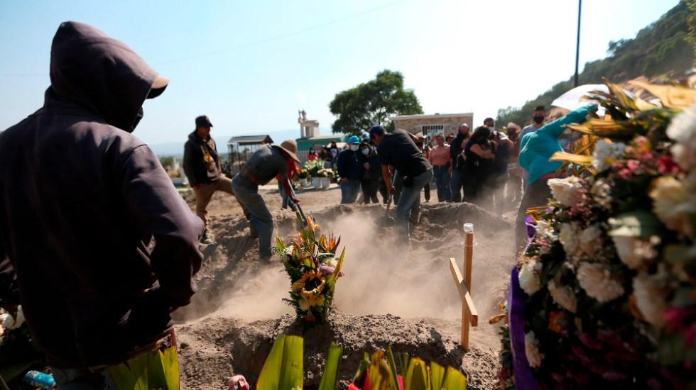 Gobierno de México dará apoyo económico para gastos funerarios de víctimas por COVID-19 - Foto de EFE